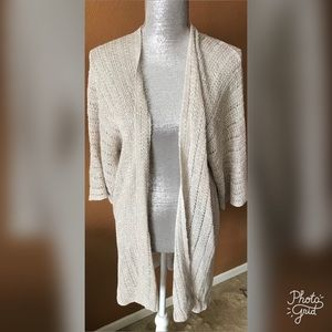 Eileen Fisher Open Front Knit Cardigan- ChicEwe